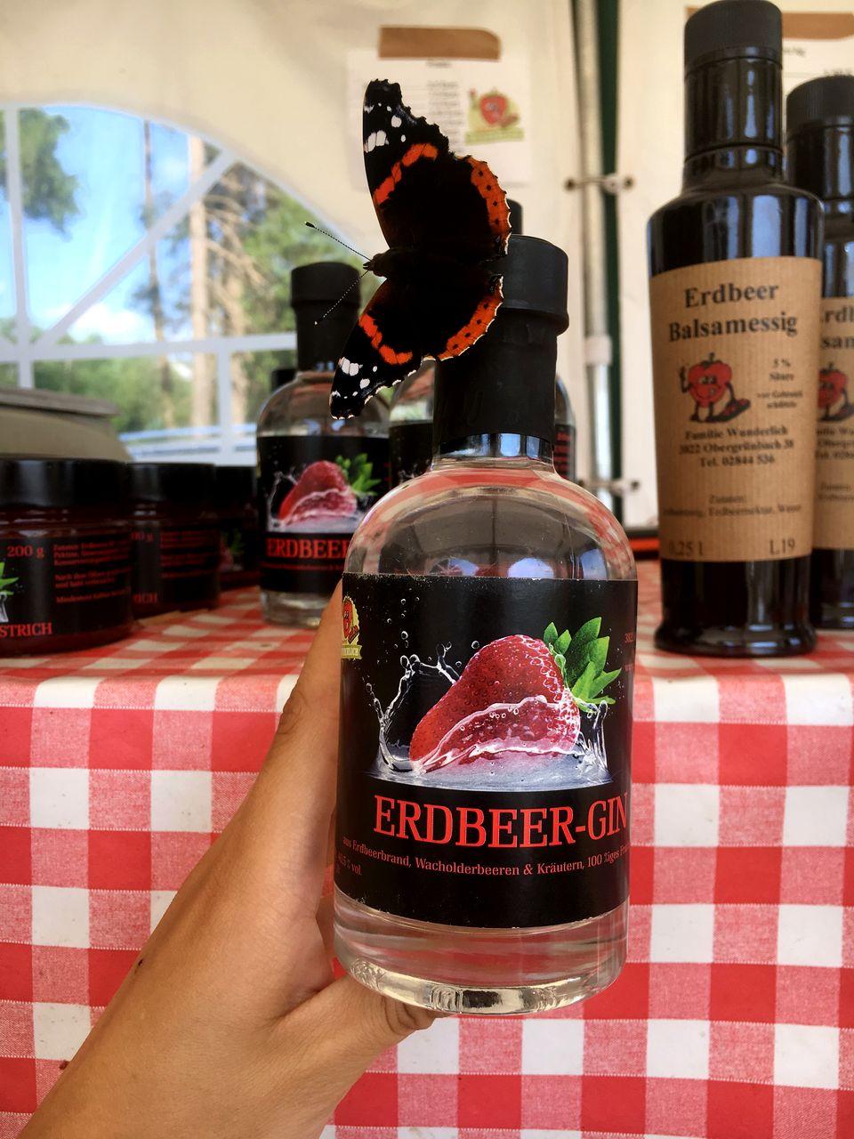 Erdbeerhof Wunderlich – seltener Erdbeer-Gin