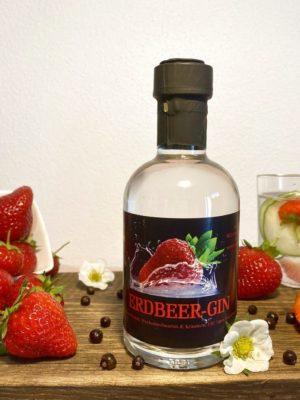 Erdbeer-Gin   Erdbeerhof Wunderlich