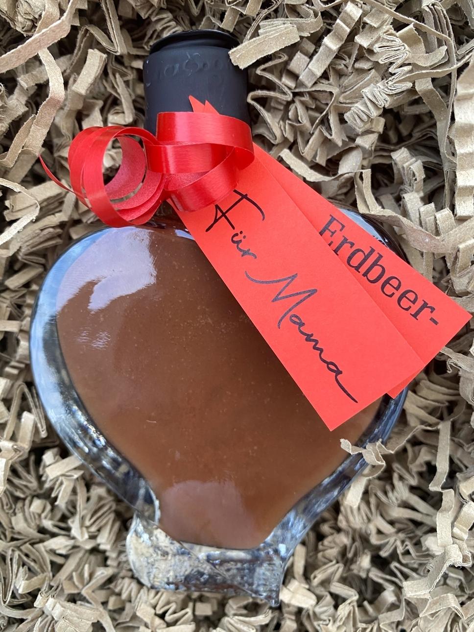 Erdbeerhof Wunderlich - Erdbeer-Nougat-Likör
